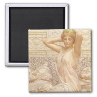 Silver by Albert Joseph Moore Refrigerator Magnet
