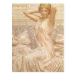 Silver by Albert Joseph Moore, Victorian Fine Art Postcard