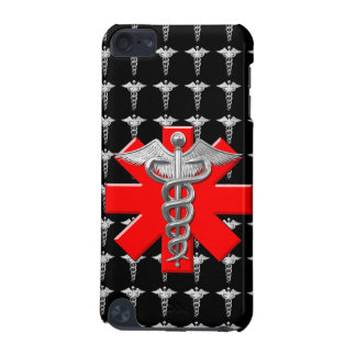 Silver Caduceus And Medical Cross iPod Touch (5th Generation) Cover