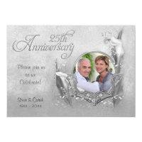 Silver Calla Lily 25th Wedding Anniversary