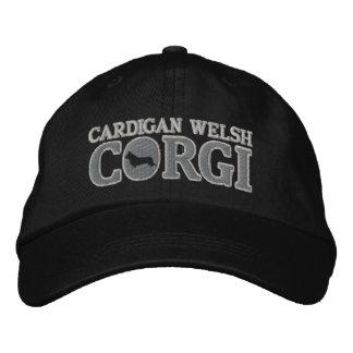 Silver Cardigan Welsh Corgi Embroidered Baseball Cap
