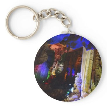 everydaylifesf Silver Cave (Guilin, China) #2-1 Button Keychain