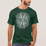Silver Celtic Dragons T-Shirt
