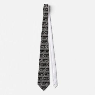 Silver Chains Tie