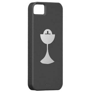 Silver Chalice and Host iPhone SE/5/5s Case