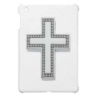 Silver Christian Cross/Easter iPad Mini Covers