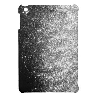 Silver Christmas Glitter Print Sparkle iPad Mini iPad Mini Cover