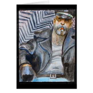 Silver Cigar Daddy Card