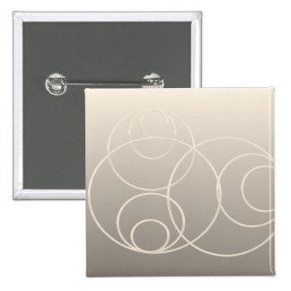 silver circles button