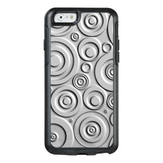 Silver Circles OtterBox iPhone 6/6s Case