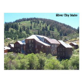 Silver City Idaho Postcard