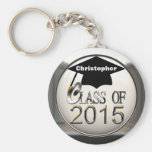 Silver Class Of 2015 Key Chain Keychains