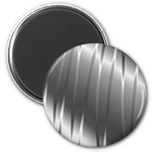 Silver Claws 2 Inch Round Magnet
