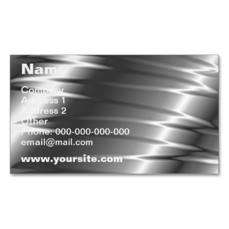 Silver Claws Magnetic Business Card