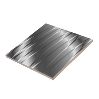 Silver Claws Small Square Tile