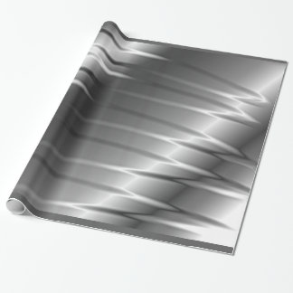 Silver Claws Wrapping Paper