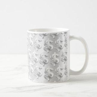 $ Silver $ Coffee Mug