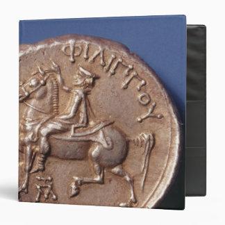 Silver coin of Philip II of Macedon Vinyl Binders