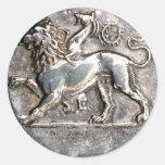 Silver Coin Reward Stickers