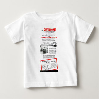 Silver Comet - Seaboard Air Line Railroad Baby T-Shirt