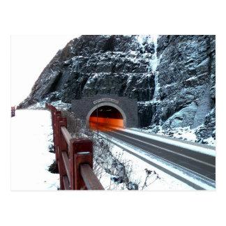 Silver Creek Tunnel Postcard