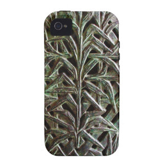 Silver Cross-country race iPhone 4 Case