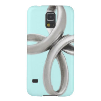 Silver cross galaxy s5 cover