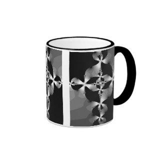Silver Cross Ringer Coffee Mug