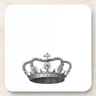 Silver Crown Gift Item You Personalize Coaster