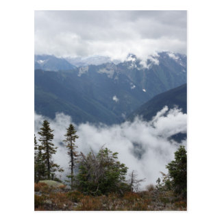 Silver Cup in the Purcell Mountains of BC Canada Postcard