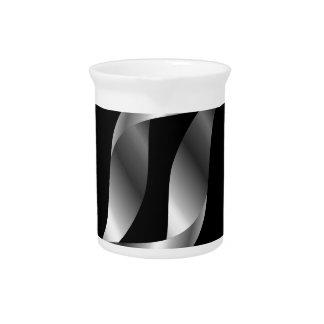 Silver design element drink pitchers