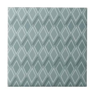 Silver Diamond Ceramic Tiles