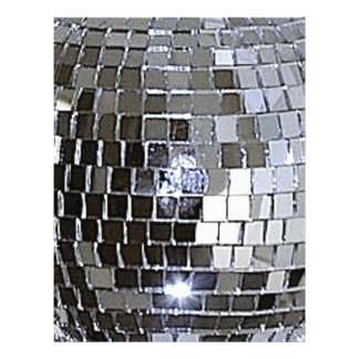 Silver Disco Ball Flyer