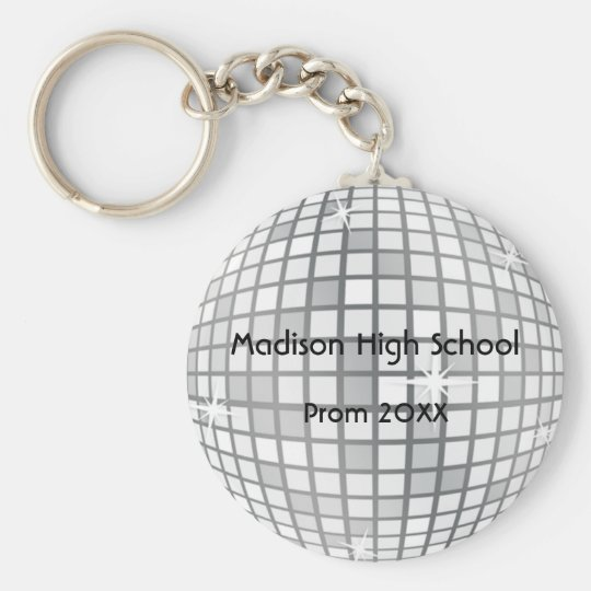 Personalized Circle Key Chain Key Chains Prom Custom Engraved Dance Formal