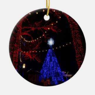 Silver Dollar City Christmas Ceramic Ornament