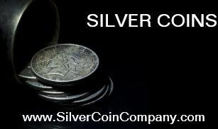 Coin business cards zazzle silver dollar coin business card template colourmoves