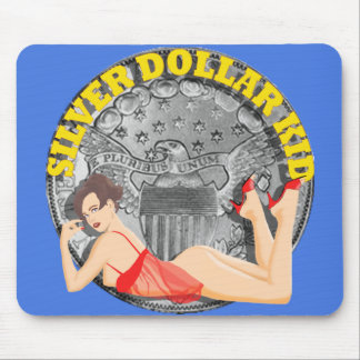 Silver Dollar Kid Mouse Pad