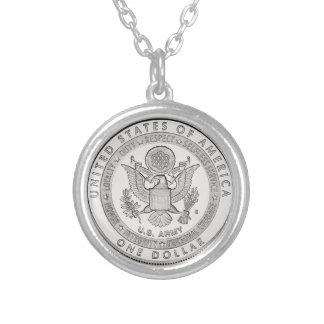 Silver Dollar Necklace