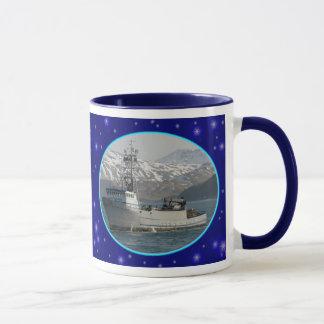 Silver Dolphin, Dutch Harbor, Alaska Mug