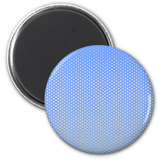 Silver dots on ANY color custom button 2 Inch Round Magnet