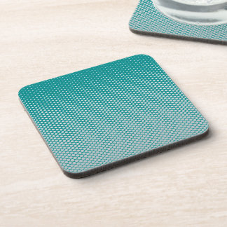 Silver dots on ANY color custom coasters