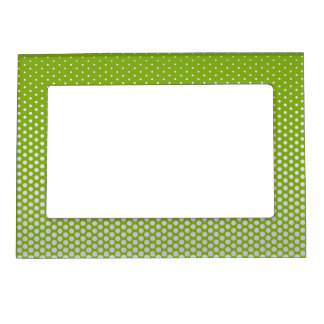 Silver dots on ANY color custom picture frame
