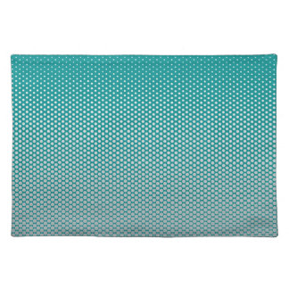 Silver dots on ANY color custom placemats
