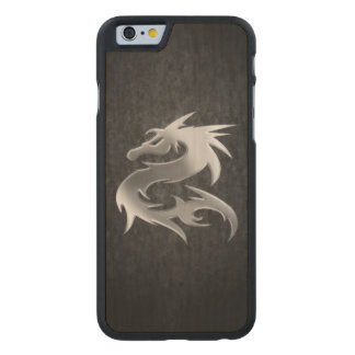 Silver Dragon Carved® Maple iPhone 6 Case