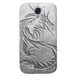 silver dragon galaxy s4 case
