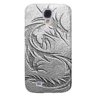 silver dragon galaxy s4 cover