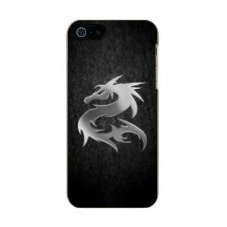 Silver Dragon Metallic iPhone SE/5/5s Case
