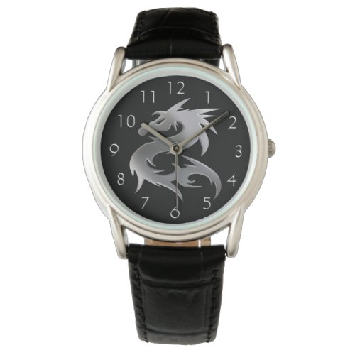 Silver Dragon Watch