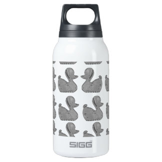 Silver Duck Insulated Water Bottle