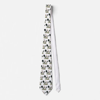 Silver Duckwing Gamefowl Tie